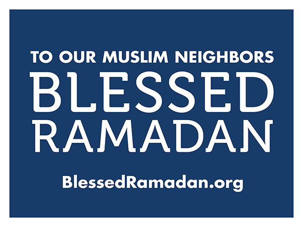 Blessed Ramadan Signs Available At Impact Printing Saint Paul MN.